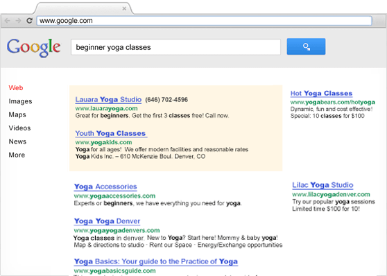 Google AdWords | Google (PPC) Pay-Per-Click Online Advertising