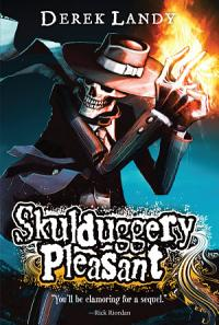 Skulduggery Pleasant: Scepter of the Ancients - Cover