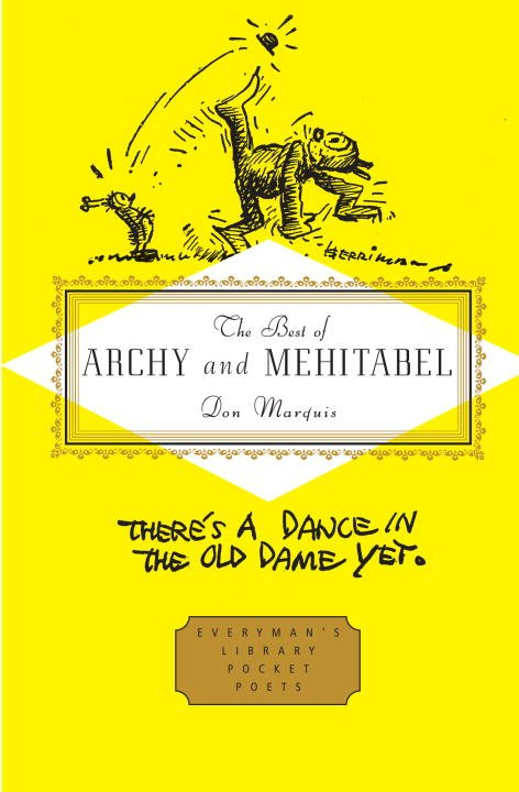 The Best of Archy and Mehitabel - Cover