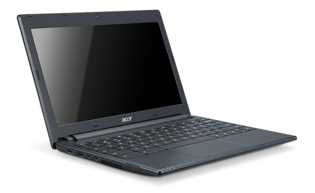 Acer Chromebook running Google's Chrome OS