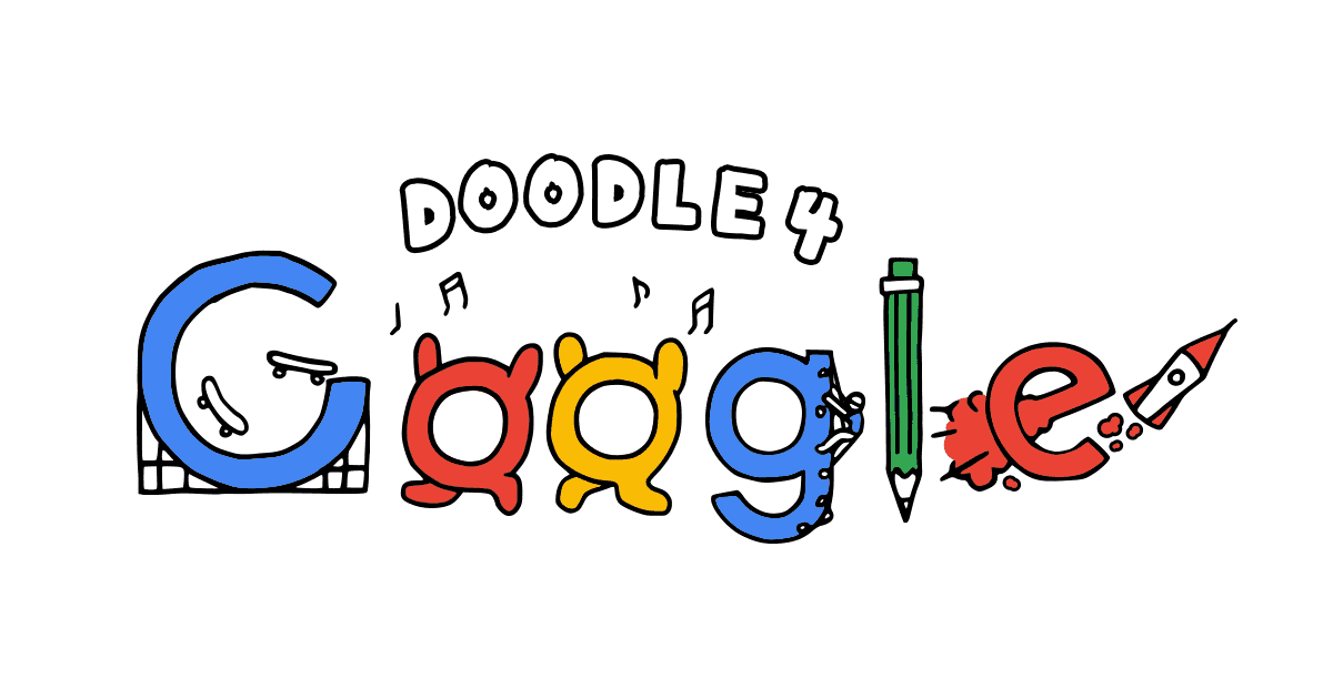 Scribble Google Drawing : Doodle google contest gallery