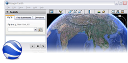 Tangkapan layar Google Earth