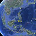 peta satelit gempa