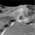 peta satelit bulan