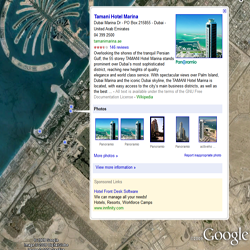 Place Pages in Google Earth