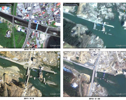 New Satellite Imagery of Japan's Disaster Areas