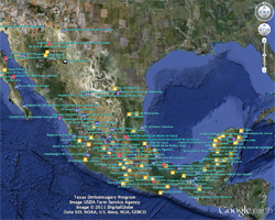 Explore the history of Mexico with Google Earth