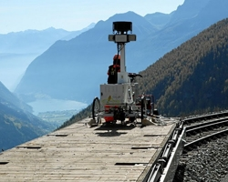 Street View hits the stunning Swiss Alps railways