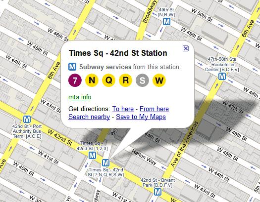 New York City Subway Map Trip Planner