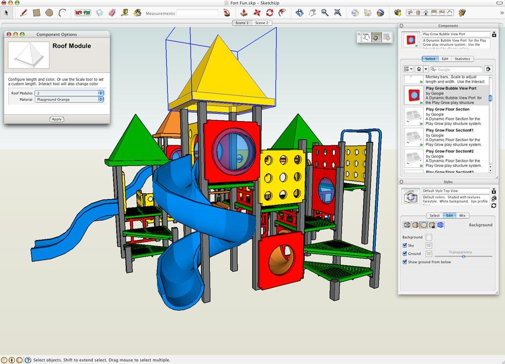 Google SketchUp 7 Work Smarter Together News