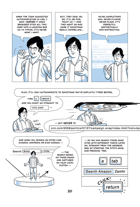 Google Chrome comic: Page 20