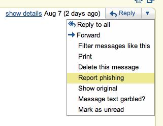 Select phishing