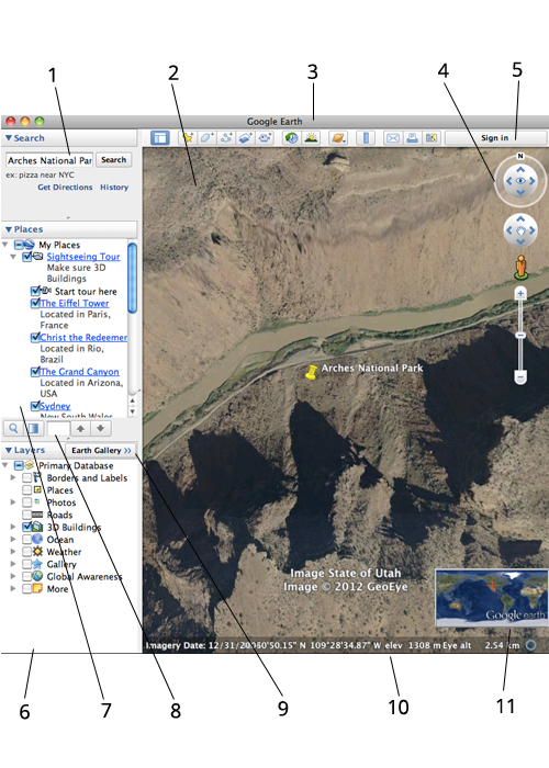 Ikhtisar Google Earth
