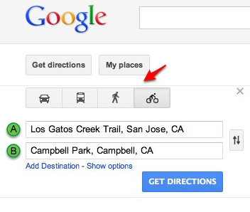 Save directions