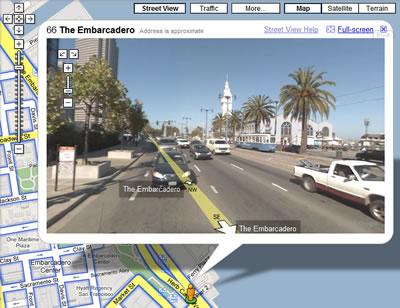 Google ile tüm caddeler sizin oluyor :)