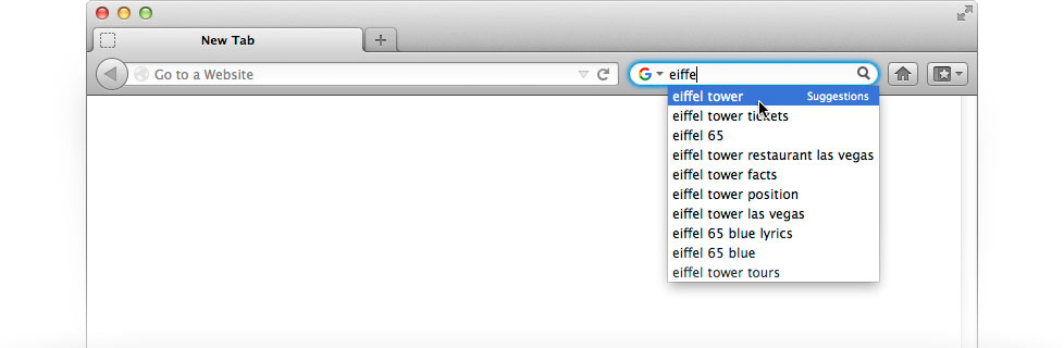 make google default search on mac