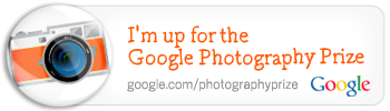 I'm up for the Google Photography Prize