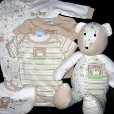 http://kindredthought.blogspot.com/2008/08/sweet-ideas-for-outgrown-baby-clothes.html