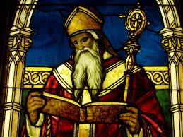 http://commons.wikimedia.org/wiki/File:Tiffany_Window_of_St_Augustine_-_Lightner_Museum.jpg