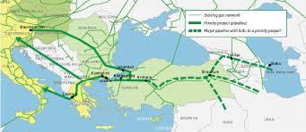 The Nabucco gas pipeline