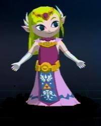 Link's Amigo Toon_Zelda