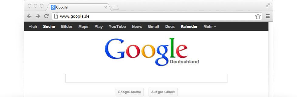 google de homepage