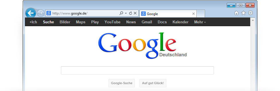 google als internet startseite einrichten