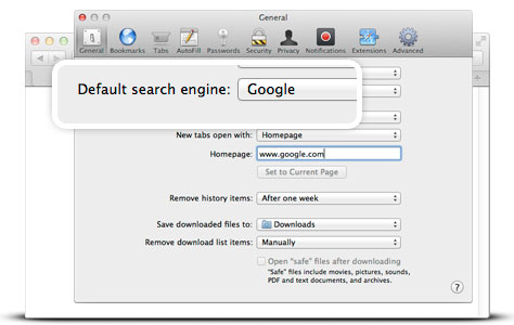How to change Safari's default search engine in iOS 8 for ...