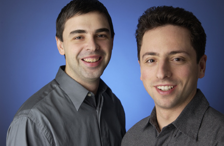 Google Founders, Sergey Brin and Larry Page