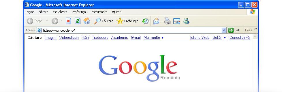 Seta i google ca pagin de pornire google