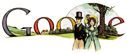 Jane Austen's 235th Birthday Google বিভিন্ন লগো–> এক নজরে দেখে নিন