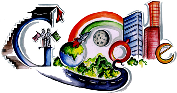 Google Doodle Children's Day / Doodle 4 Google 2010 - India Winner