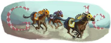 Google Doodle Melbourne Cup 2010