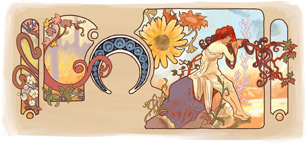Alfonse Mucha's 150th Birthday