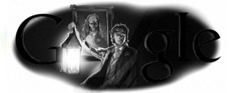 Google Doodle Oscar Wilde's 156th Birthday