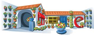 Google Doodle Patios Cordobeses