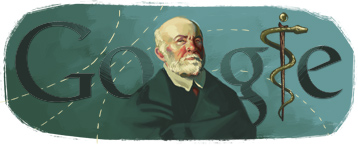 Google Doodle Nikolay Pirogov's 200th Birthday