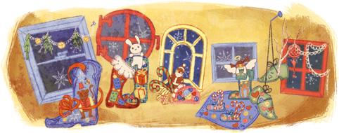 St. Nicholas Day Google বিভিন্ন লগো–> এক নজরে দেখে নিন