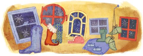 St. Nicholas Eve Google বিভিন্ন লগো–> এক নজরে দেখে নিন