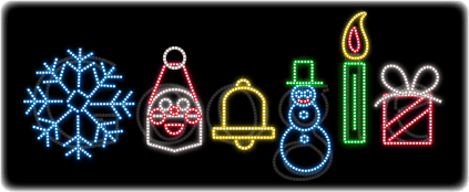Google Logo Collection 2012