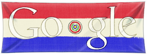 Google Doodle Paraguay Independence Day 2011