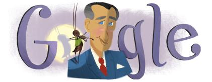 Google Doodle Francisco Gabilondo Soler's 105th Birthday