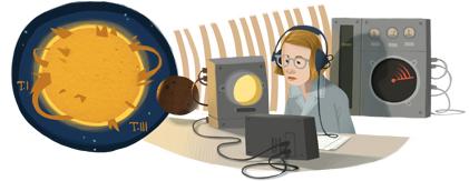 Google Doodle Ruby Payne-Scott's 100th Birthday