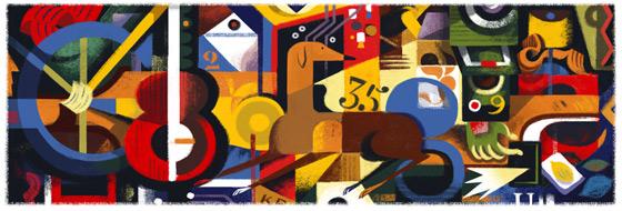 Google Doodle Amadeu de Souza-Cardoso's 125th Birthday
