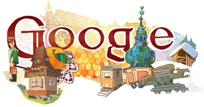 Google Doodle Austria National Day 2012