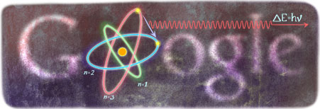 Google Doodle Niels Bohr's 127th Birthday