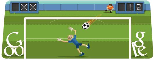 Google Doodle Londýn 2012: Fotbal