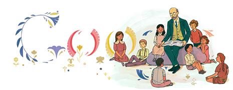 Google Doodle Janusz Korczak's Year