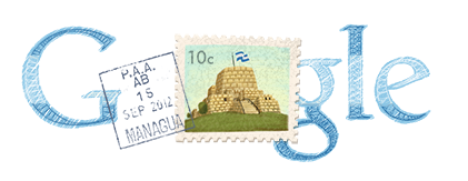 Google Doodle Nicaragua Independence Day 2012