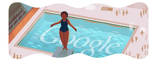 Google Doodle Londýn 2012: Skoky do vody